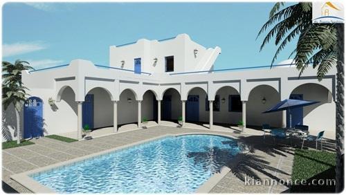 Acheter votre villa djerba tunisie bord de la mer a for Acheter maison tunisie