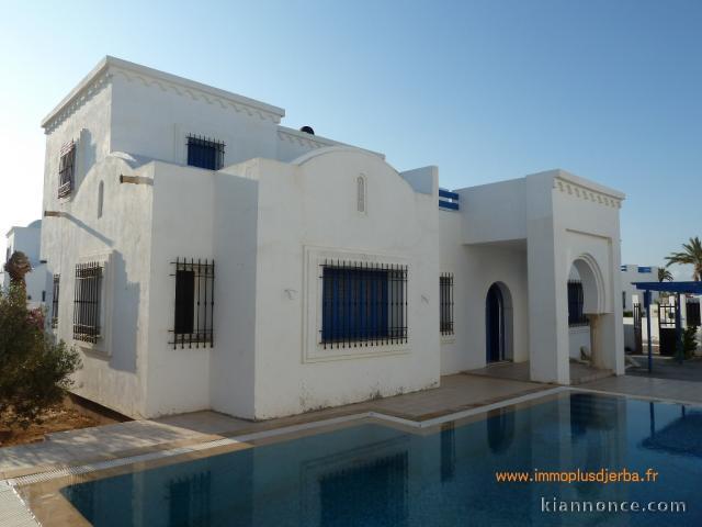 villa neuve avec piscine 224 djerba tunisie