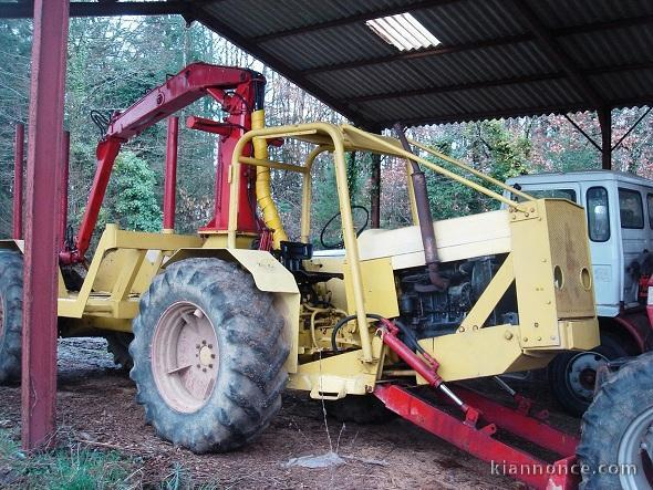 tracteur forestier grizzly