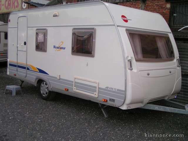 caravane burstner ventana 2004 a vendre chartres vehicules autres v hicules. Black Bedroom Furniture Sets. Home Design Ideas