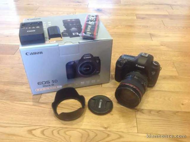 canon eos 5d mark iii objectifs a vendre puget th niers. Black Bedroom Furniture Sets. Home Design Ideas